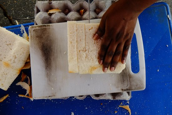 Penang Photography Walks With David Hagerman: prepping up Roti Bakarsell