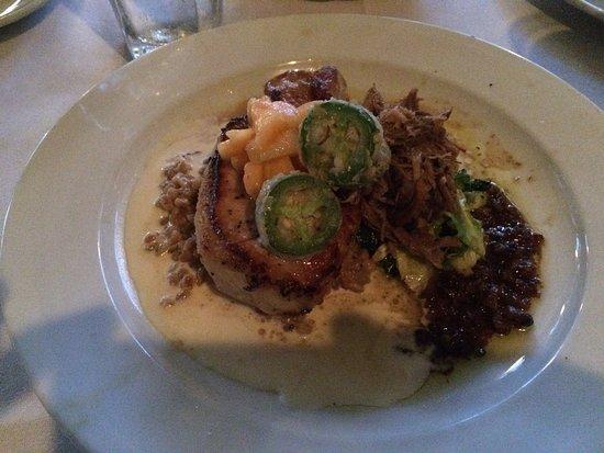 G. Michael's Bistro & Bar : Pork duo entree, elaborate and delicious