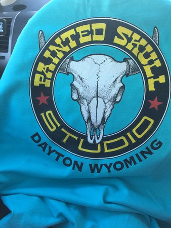 Dayton, WY: Cool T-shirt with cool logo!!
