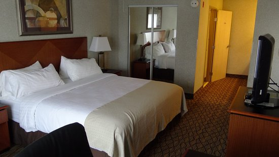 Rock Springs Holiday Inn: Comfy bed