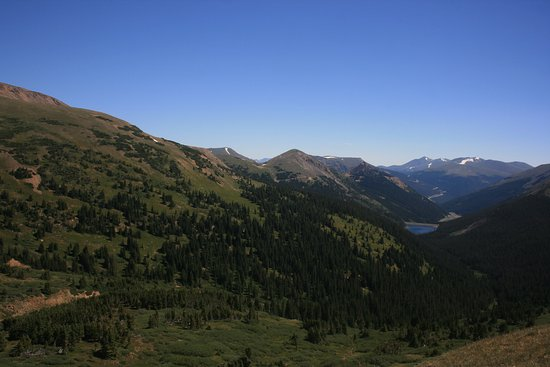 Dillon, CO: Woods Creek Valley, View From CDNS Trail