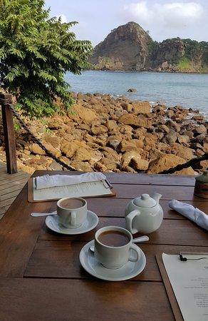 Aqua Wellness Resort: Breakfast on the beach.