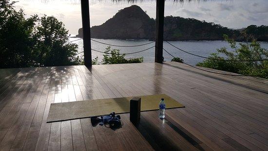 Aqua Wellness Resort: View from yoga platform.