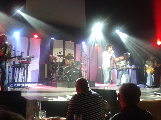 Sands Venue: the bay city rollers bit