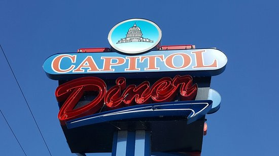 Capitol Diner: Good looking place great atmosphere