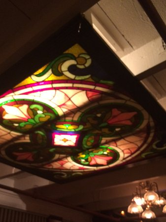 Irene's Cuisine: Stained glass ceiling
