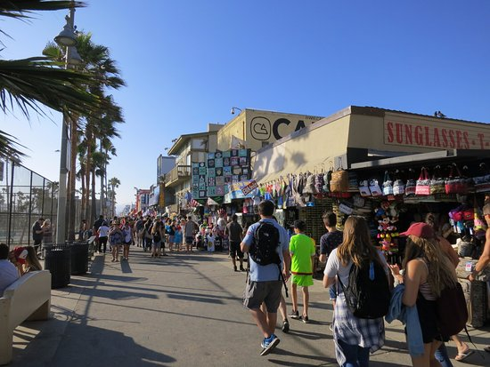 Venice Beach Ocean Front Walk Picture Of Boardwalk