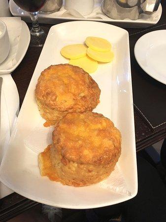 Longframlington, UK: Cheese Scones