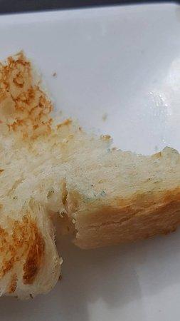 Eemnes, Nederland: Blue mold on bread