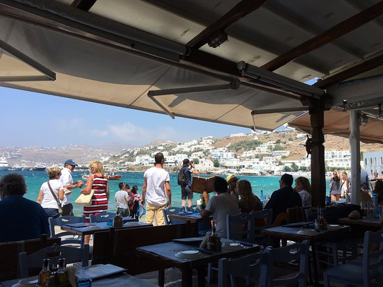 View from Mourayio Family Cafe - Restaurant