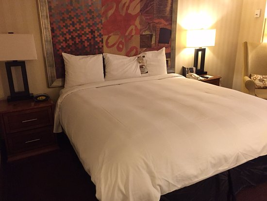 Indianapolis Marriott Downtown: King bed