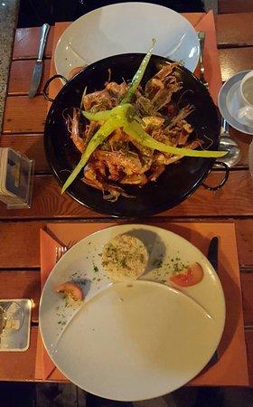 Restaurant Rebstock: Les fameux Gambas