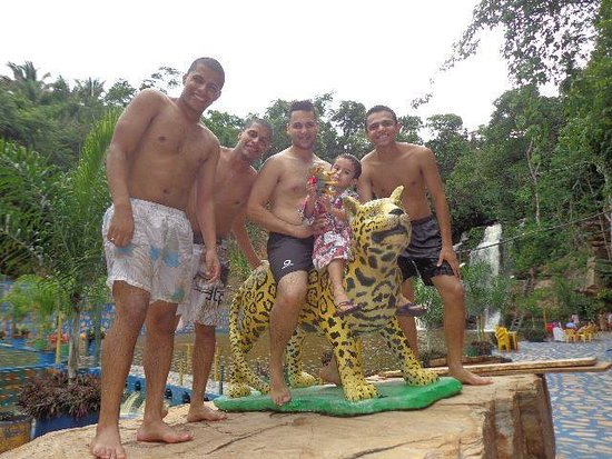 Araguaína, TO: Amigos e meu sobrinho