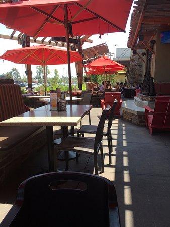 Cerritos, Californië: Outdoor patio