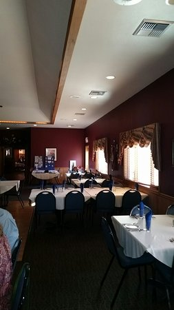 Wausaukee, WI: Main dining room