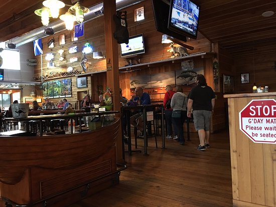 Long Beach, WA: Bar area