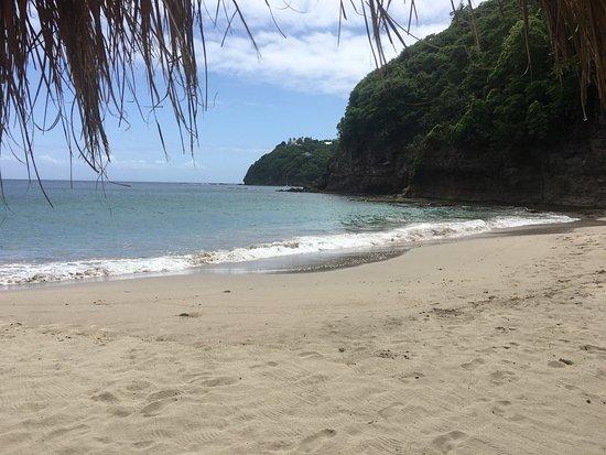 Cap Estate, St. Lucia: Cap Maison & naked fisherman