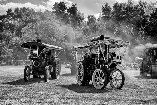 Tansley, UK: Cromford Steam Rally 2016