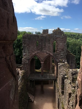 Goodrich castle.
