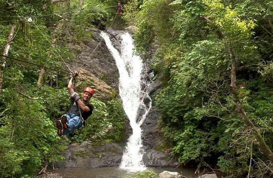 Miramar, Costa Rica: Waterfall Zip Line Tour