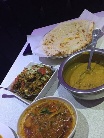Knottingley, UK: 7/8/16 Dinner