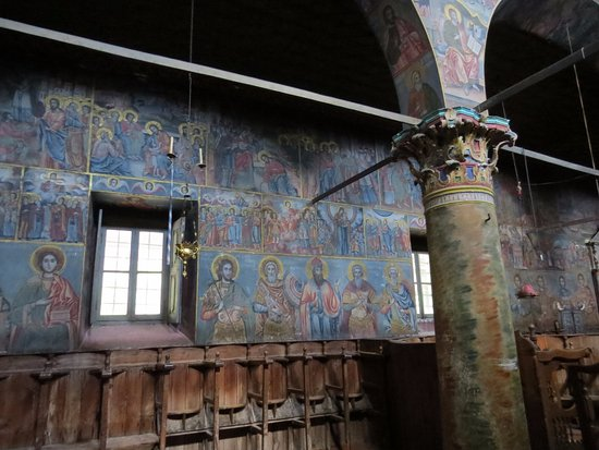 Kalloni, Griekenland: Nice paintings in the church
