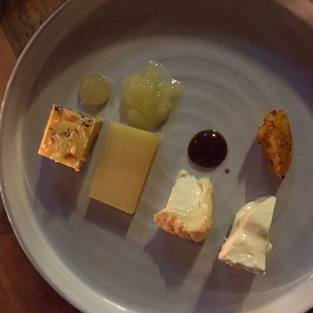 Restaurant Dartel: cheese selection