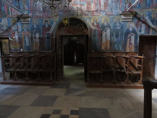 Kalloni, Греция: In the church