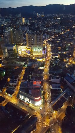 Komtar: View From 59 Sixty Dining Room