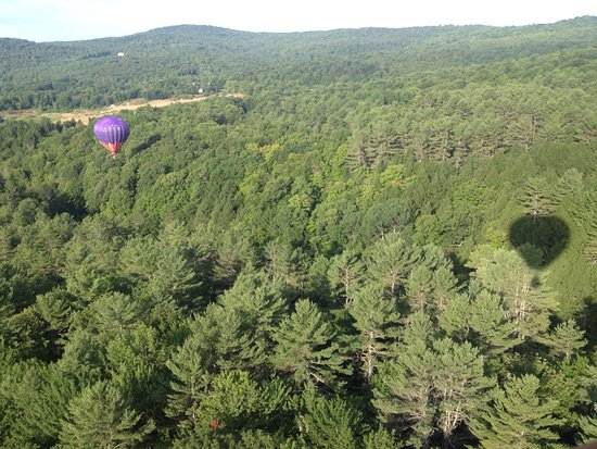 Quechee, VT: Over the gorge