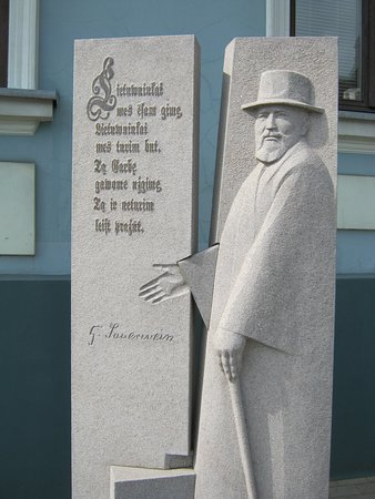 Monument to Jurgis Zauerveinas
