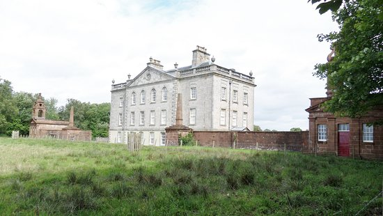 Auchinleck House stands close by (Private)