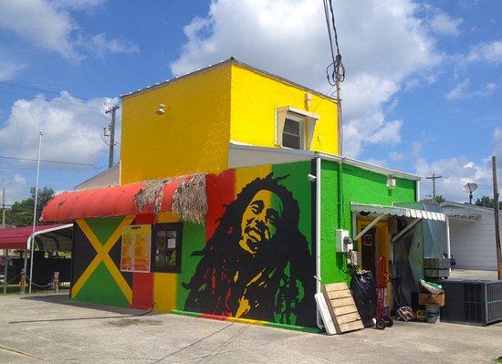 Maryville, TN: Super colorful Jamaica Sunrise building