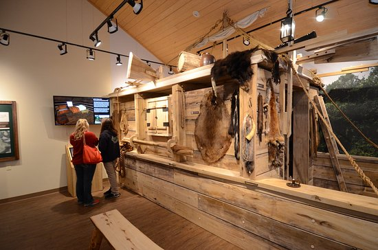 Pocahontas, AR: Flatboat exhibit at Davidsonville Historic State Park