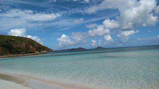 Gorda Peak National Park, Virgin Gorda: Favorite beach Savannah Bay