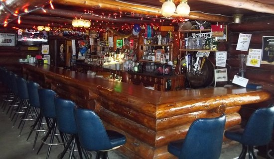 Saint Germain, WI: Our old craftsman built bar!