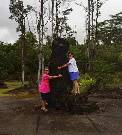 "Pahoa, Hawaï: ""Tree huggers"""