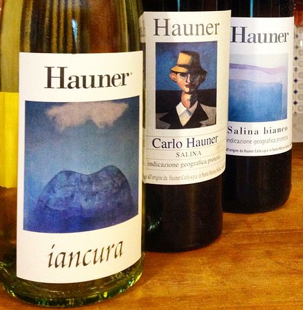 Carlo Hauner Azienda Agricola: Beautiful labels by Calrlo Hauner