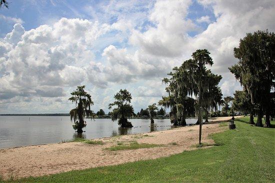 Lake End Park: The lake