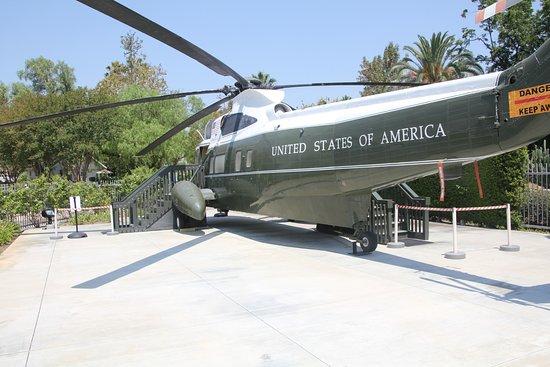 Yorba Linda, Californien: Presidential helicopter