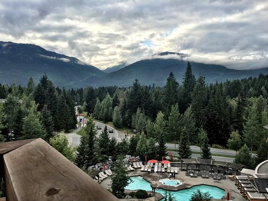 Four Seasons Resort and Residences Whistler: View from room (6th floor)