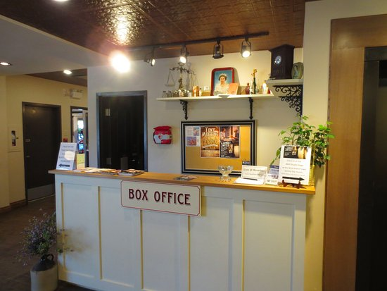 Rosebud, Kanada: Box Office in Mercantile Bank building