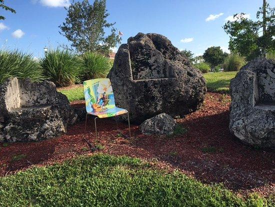 Art Sculpture Rocks at MIRAMAR REGIONAL PARK