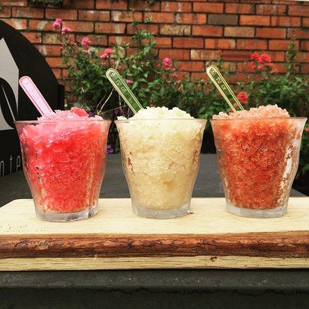 Waterloo Gardens Teahouse: Iced Teas - Granitas