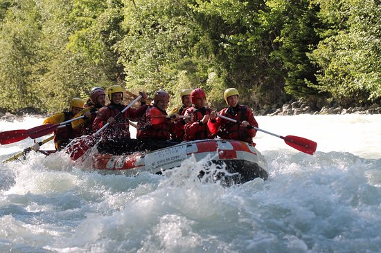 Morgex, Italië: Rafting mont Blanc