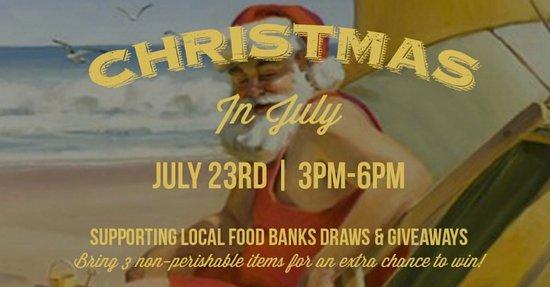 Сюррей, Канада: CHRISTMAS IN JULY A SUCCESS ACROSS JRG