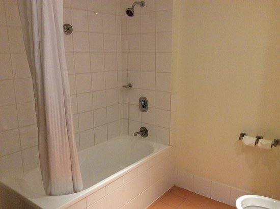 ibis Brisbane: Bathroom shower over bath