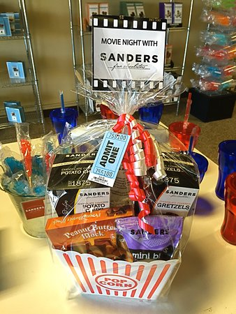 Sanders: Themed gift baskets available