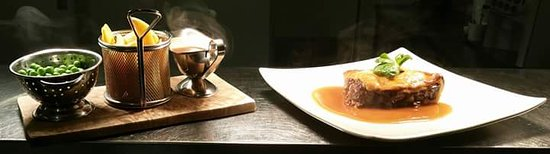 Gilpin Bridge Inn, Levens: Home made pie