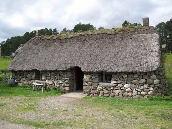 Highland Folk Museum: Croft house